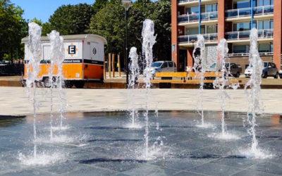 Water en groen op nieuwe Mandelaplein